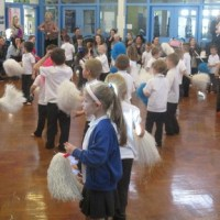 Launching the Maths Packs with a Number Dance