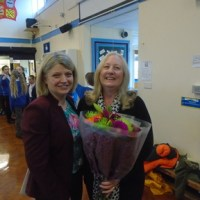 Fond farewell to Mrs.Cowgill