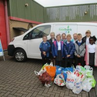 Visit to Gateshead Food Bank