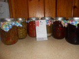 Variety of Home Canned Goods