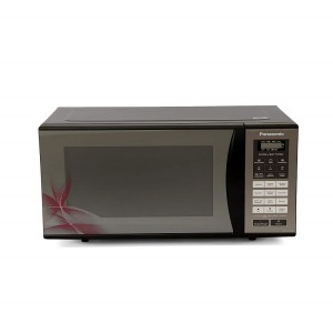 Panasonic 23 L Convection Microwave Oven (NN-CT36HBFDG, Black Mirror Floral)