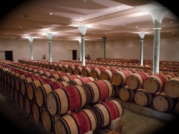 Barrels at Branaire Ducru