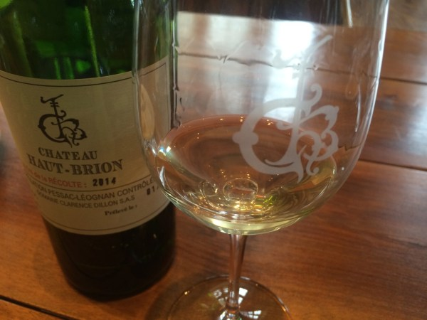 Haut Brion White Bottle 2014