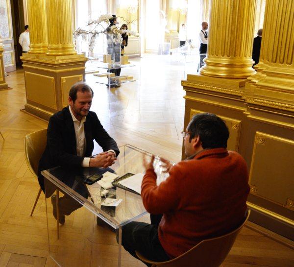 Interviewing Pierre Lurton