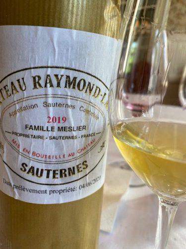 Superb Sauternes at Raymond-Lafon