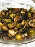 The Best Honey Balsamic Oven Roasted Brussel Sprouts