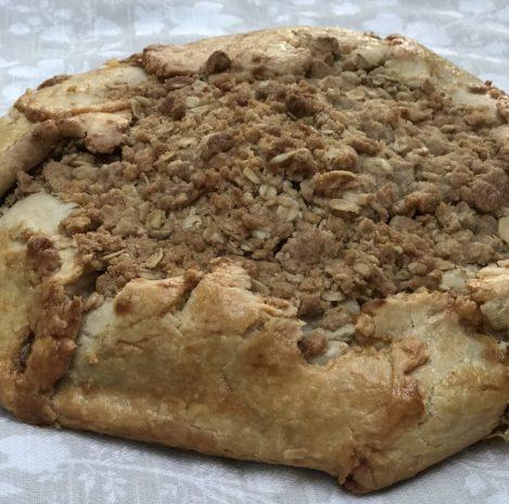 apple pumpkin butter crostada