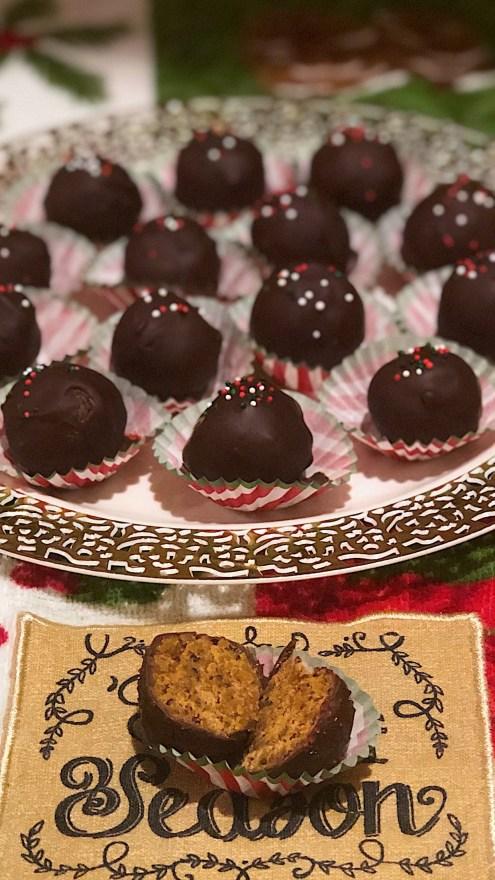 Healthy Crispy Peanut Butter Balls-a delicious paleo, vegan and gluten free dessert