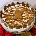 gingerbread christmas trifle