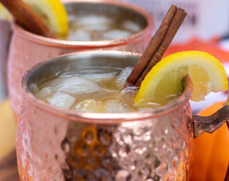 Pumpkin Spice Moscow Mule