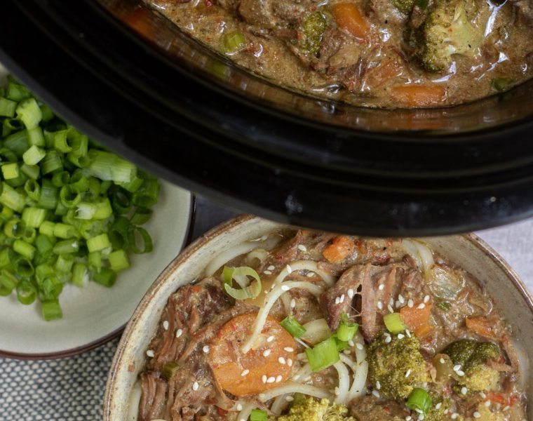 Crockpot Thai Beef Stew