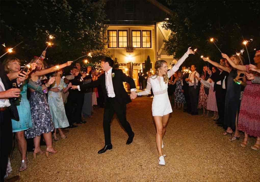 Wedding Send Off, Pippin Hill Wedding, Wedding Sparklers, Wedding Tunnel, Sparkler Send Off, Virginia Wedding