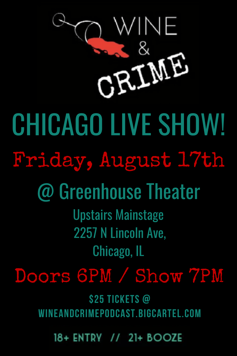 Chicago Live Show Aug 17th, 2018 Flyer