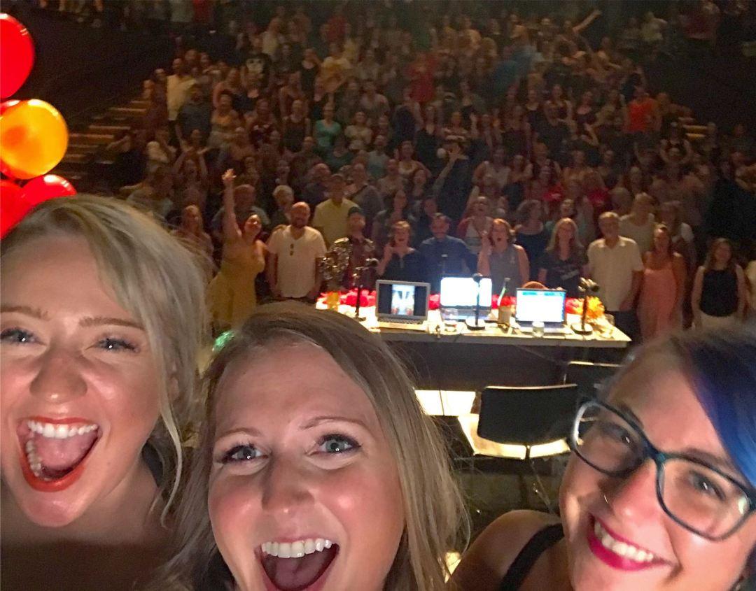Mpls Live Show Selfie (Aug 2018)