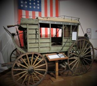 The Fort Custer - Rock Springs Stagecoach