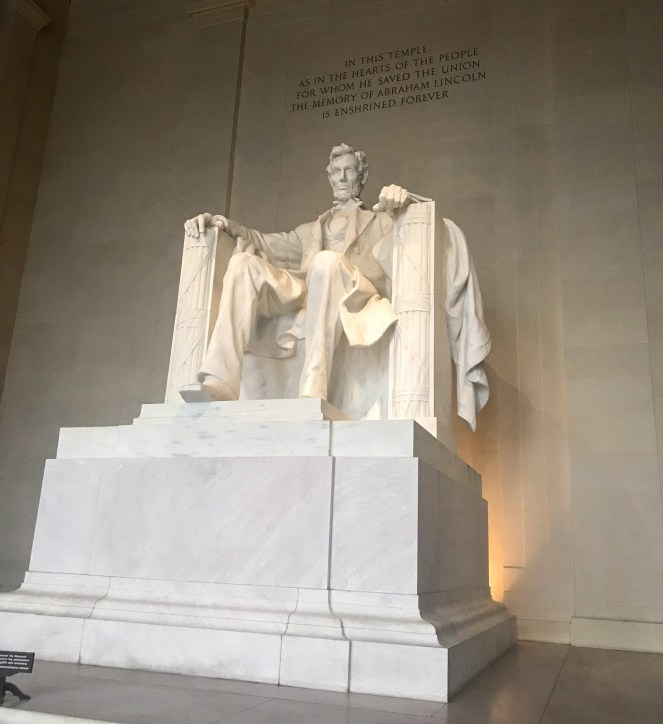 The Lincoln Monument Washington DC