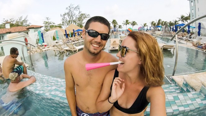 Sandals Royal Barbados | Travel Couple Blog | Caribbean | party
