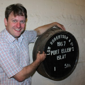 Julian Kaye Port Ellen Whisky Cask