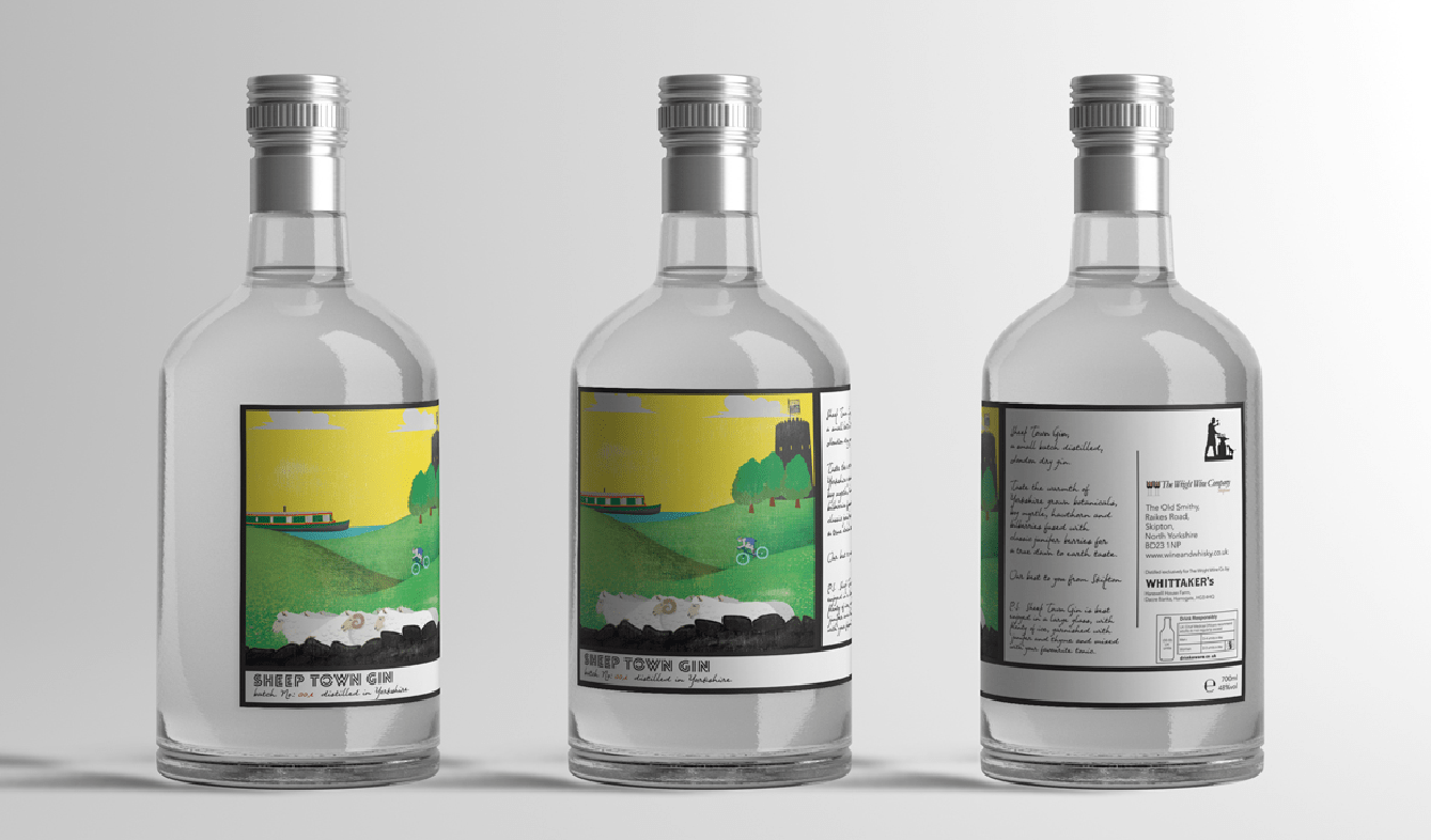Sheep Town Gin Wright Wine Co