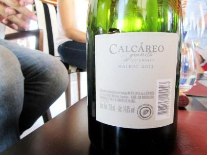 Calcareo de Granito Malbec 2013, Tupungato, Uco Valley, Mendoza, Argentina, Wine Casual