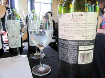 El Enemigo, Cabernet Franc 2011, Mendoza, Argentina, Wine Casual