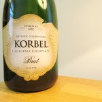 Korbel, California Champagne Brut, California, Wine Casual