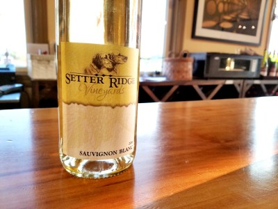 Setter Ridge Vineyards, Sauvignon Blanc 2016, Lehigh Valley, Pennsylvania