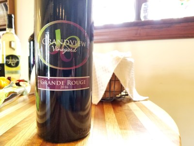 Grandview Vineyard, Grande Rouge 2016, Lancaster, Pennsylvania, Wine Casual