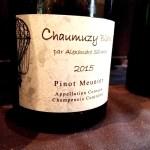 Alexandre Salmon, Chaumuzy Blanc 2015, Coteaux Champenois, Champagne, France, Wine Casual