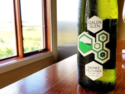 Wine Casual, Galen Glen Winery produces impressive white wines including Gewürztraminer.