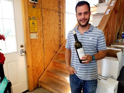 Wine Casual, Stony Run Winery's production is guided by Nacho Martinez, a flying winemaker from Argentina.