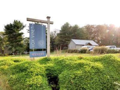 Vox Vineti is located Pennsylvania's Andrews Bridge appellation.  Wine Casual.