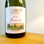 Sunce Winery & Vineyard, Grenache 2016, Frog's Tooth Vineyards, Sierra Foothills, California, Wine Casual