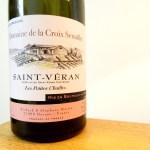 Domaine de la Croix Senaillet, Saint-Véran, Les Petites Chailles 2015, Burgundy, France, Wine Casual