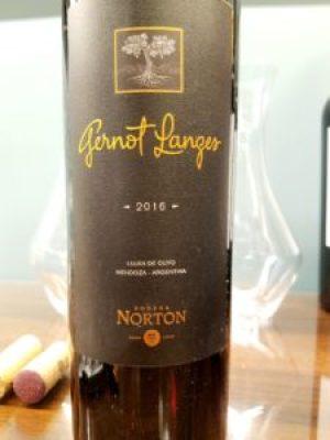 Bodega Norton, Gernot Langes 2016, Luján de Cuyo, Mendoza, Argentina, Wine Casual