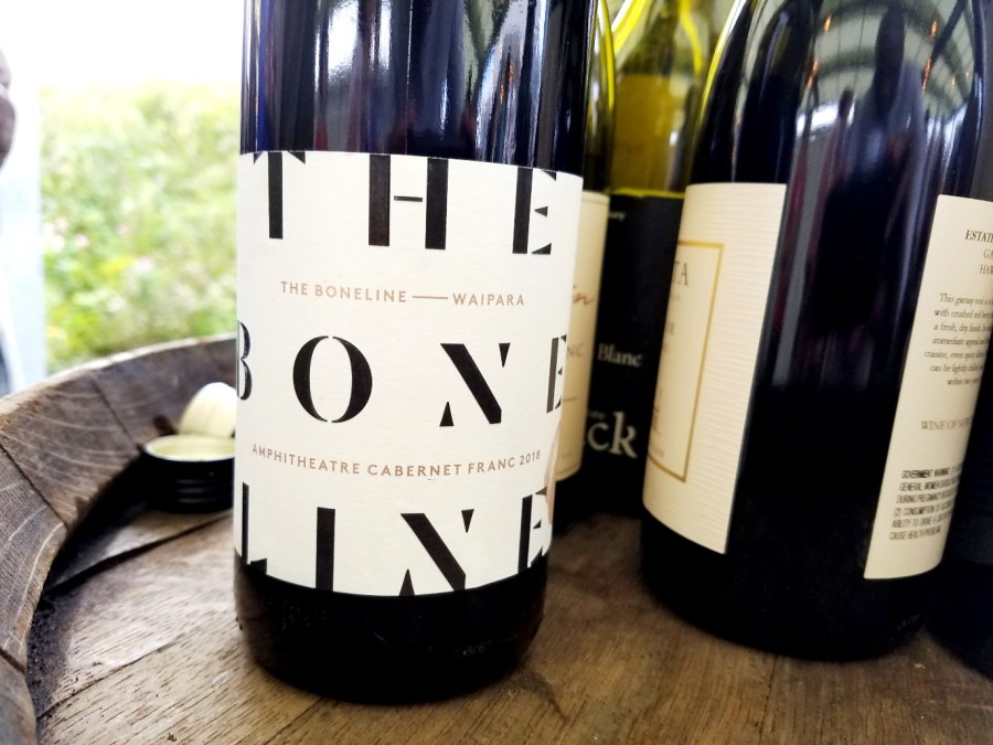 The Boneline, Amphitheatre Cabernet Franc 2018, Waipara, New Zealand, Wine Casual
