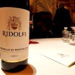 Ridolfi Brunello di Montalcino 2015, Benvenuto Brunello 2020 New York City, Wine Casual