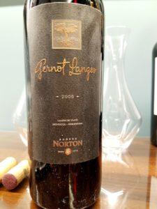 Bodega Norton, Gernot Langes 2006, Wine Casual.