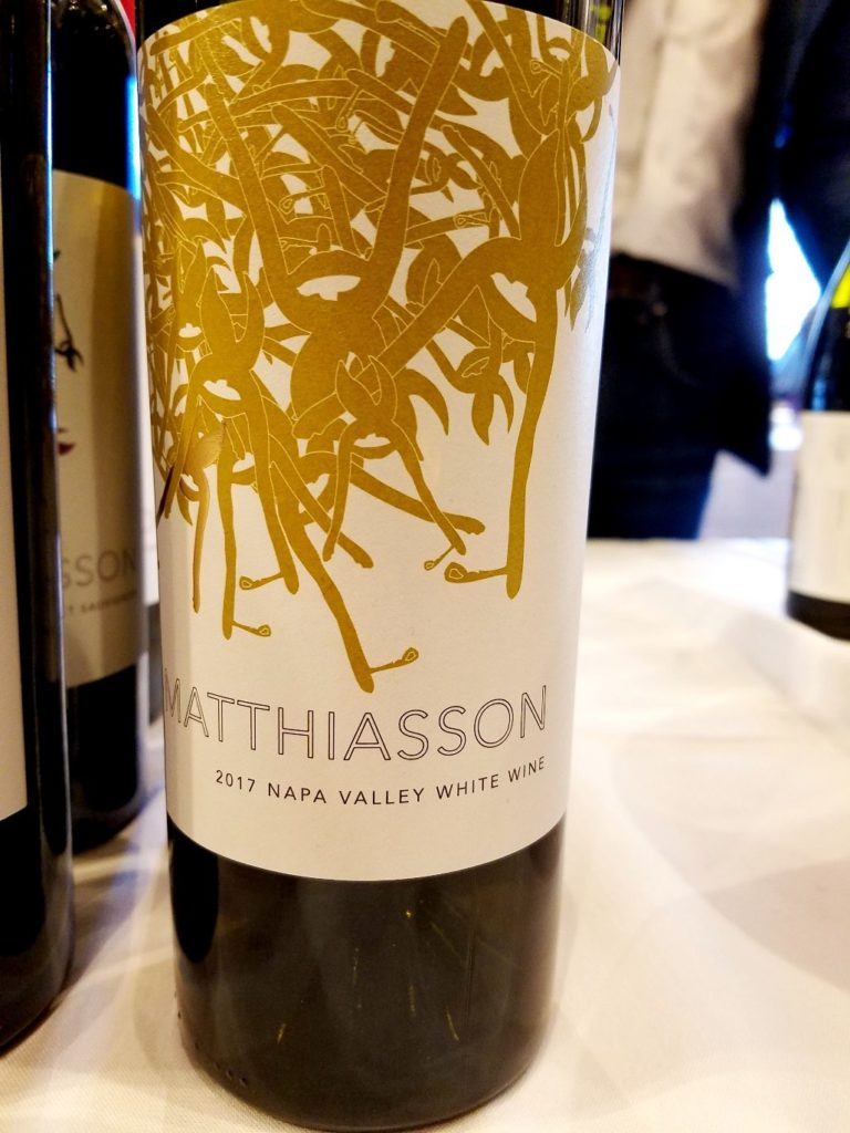 Matthiasson White Wine 2017 Napa Valley, Slow Wine New York Winetasting, Wine Casual