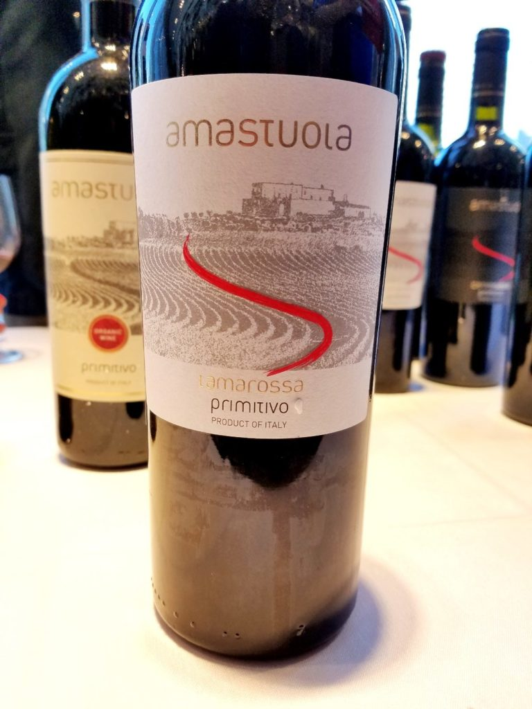 Amastuola Ramarossa Primitivo 2016, Slow Wine New York Winetasting, Wine Casual