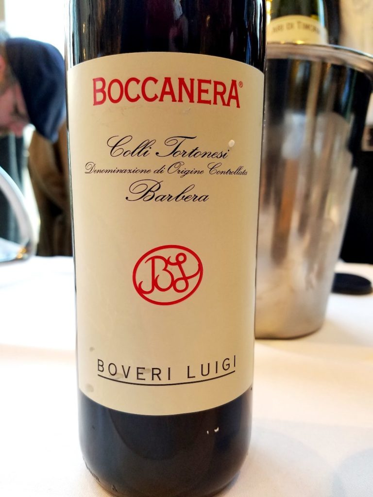 Boccanera Colli Tortonesi Barbera Boveri Luigi, Slow Wine New York Winetasting, Wine Casual