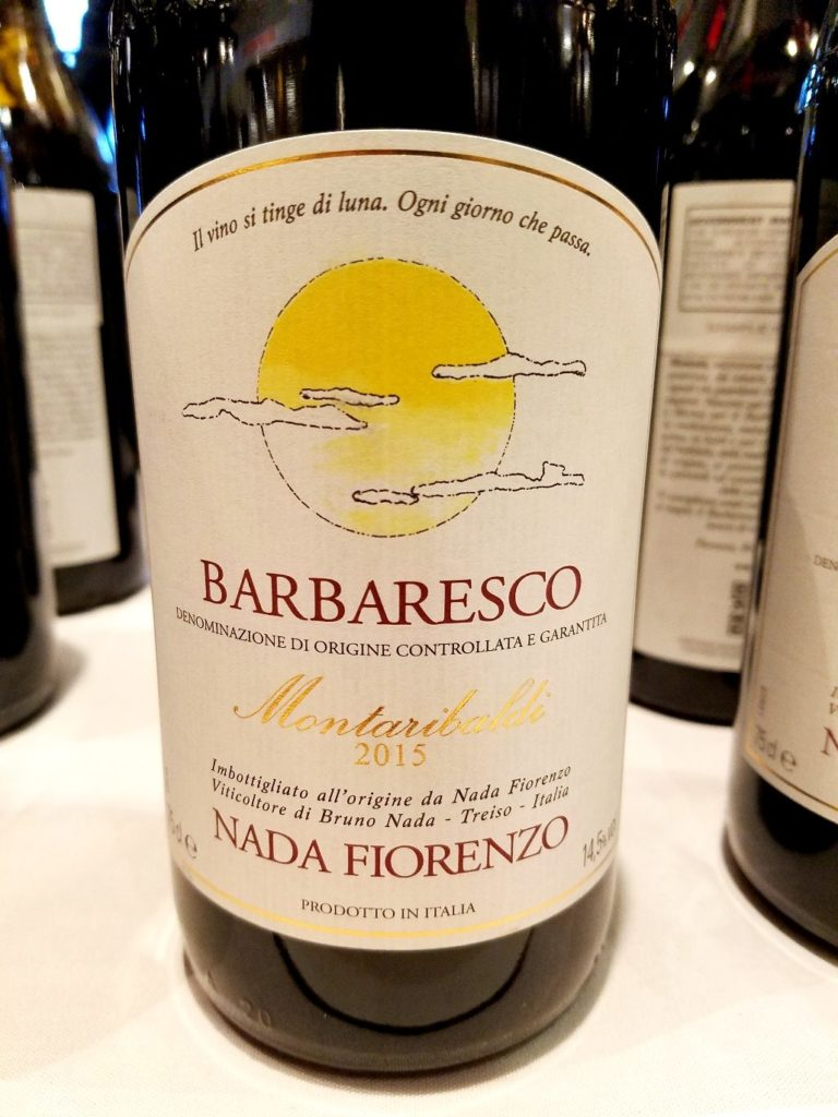 Fiorenzo Nada Barbaresco Montaribaldi 2015 Piedmont Italy, Slow Wine New York Winetasting, Wine Casual