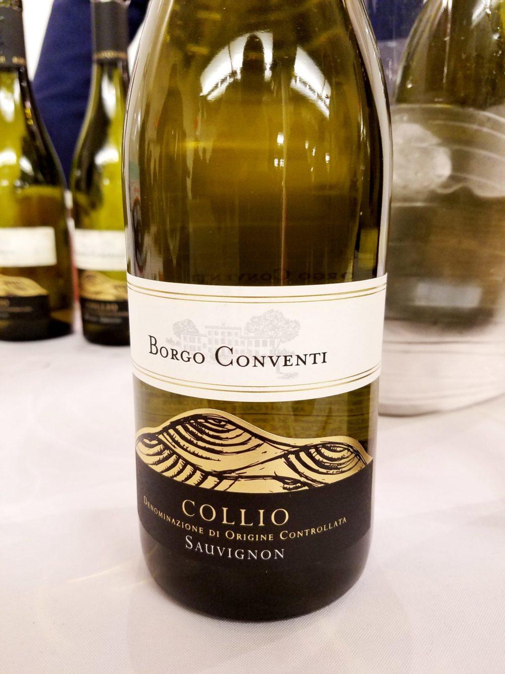 Borgo Conventi Collio Sauvignon 2018, Gambero Rosso New York Winetasting, Wine Casual