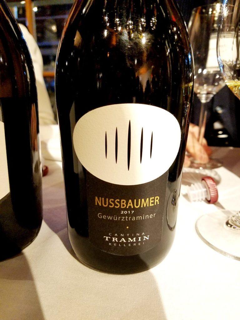 Cantina Tramin Kellerei Nussbaumer Gewurztraminer 2017, James Suckling Great Wines of Italy New York 2020, Wine Casual