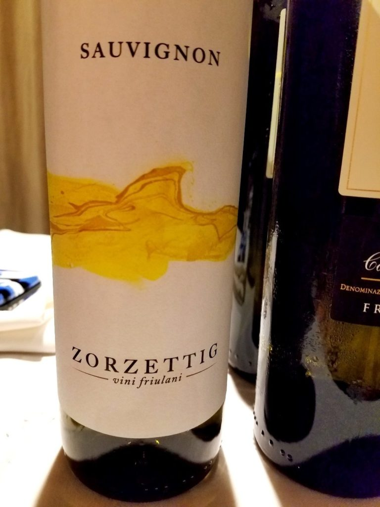 Zorzettig Sauvignon 2018, James Suckling Great Wines of Italy New York 2020, Wine Casual