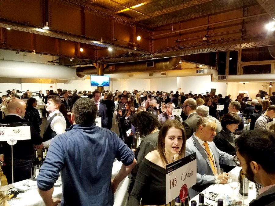 James Suckling Great Wines of Italy New York 2020, Wine Casual