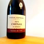 Pascal Aufranc, Vignes de 1939 Chénas en Rémont 2016, Beaujolais, France, Wine Casual