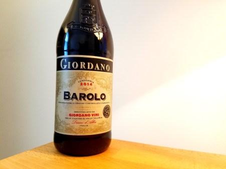 Giordano, Barolo DOCG 2014, Piedmont, Italy, Wine Casual