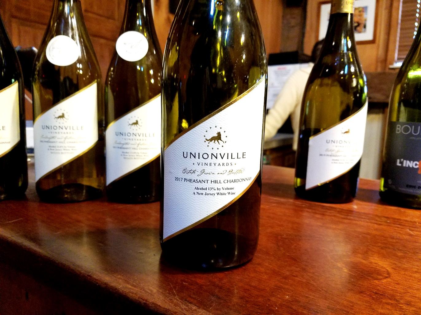 Unionville Vineyards, Pheasant Hill Chardonnay 2017, New Jersey, Wine Casual