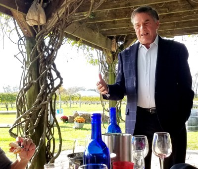 """What's the best variety for New Jersey?  You're not going to find it; it's blends,"" offers Lawrence Coia, grape grower and owner of Coia Vineyards and co-author of the book Wine Grape Varieties for New Jersey.  Wine Casual"
